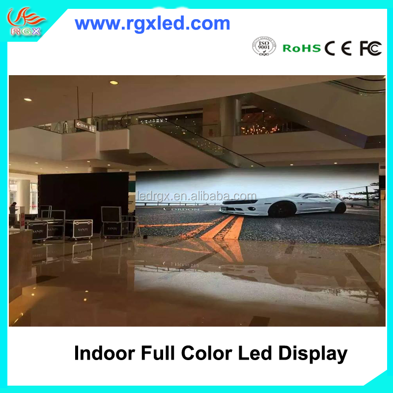 RGX P3.91&P4.81&P2 Front Access Die Casting Cabinet Indoor Rental LED Display Screen