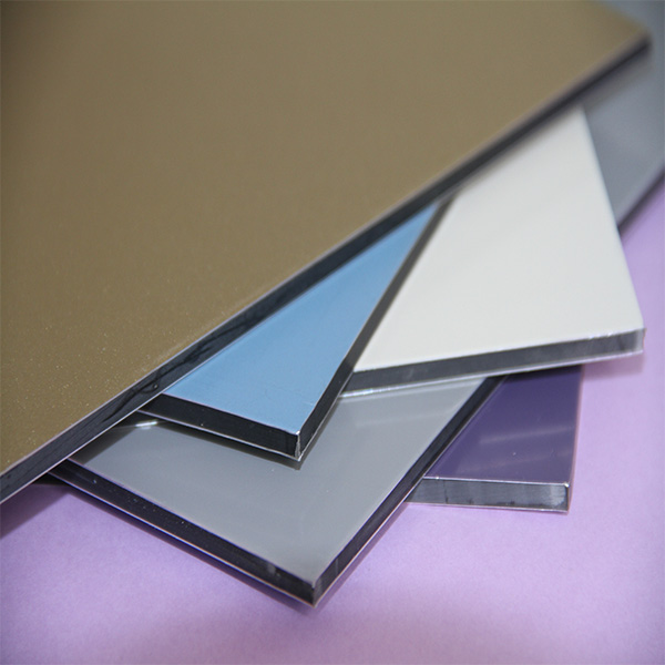 20 years guarantee unbreak plastic core corrugated 4mm aluminum composite panel