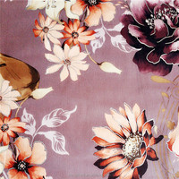 High quality price per meter velvet printing fabric for home textile/beautiful flower upholstery fabric for sofa