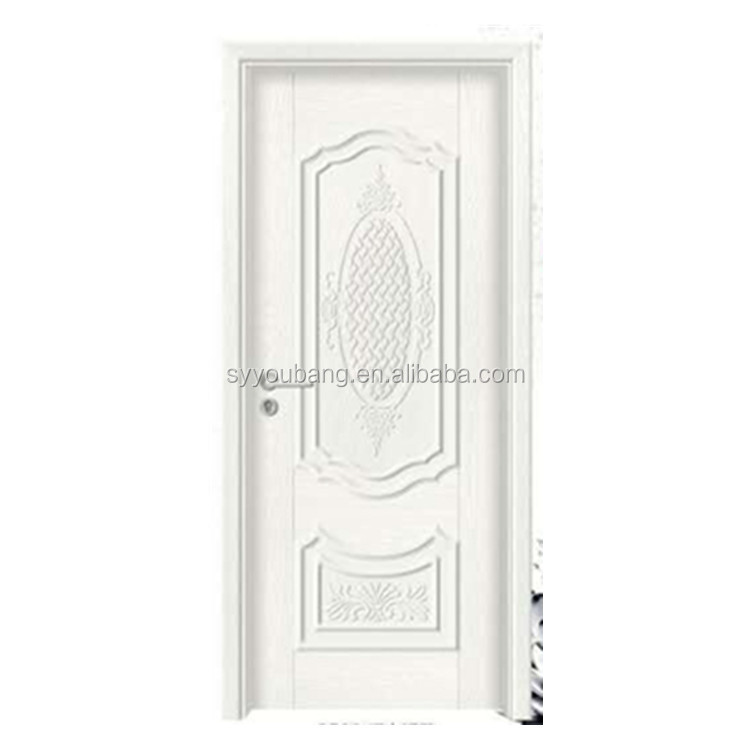 melamine office white color partitions folding wood doors