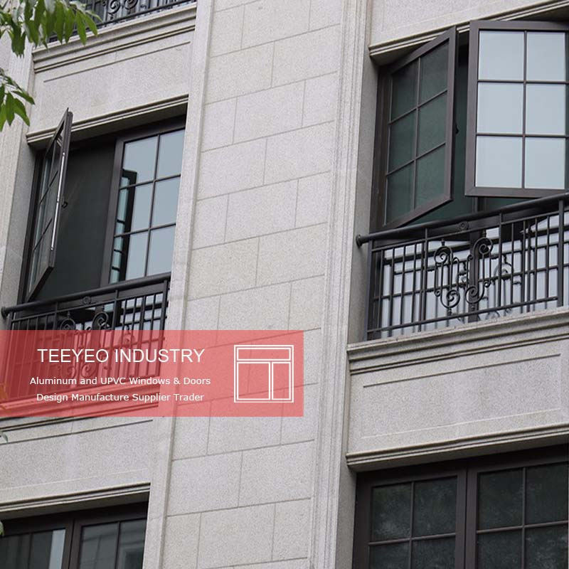 Teeyeo Quality guarantee and execellent large high end aluminum window