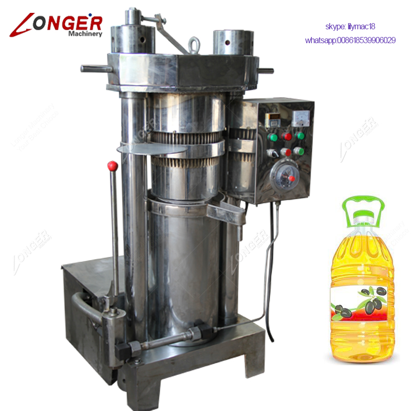 Automatic Hydraulic Pressure Mustard Oil Making Press Sesame Oil Extraction Machine