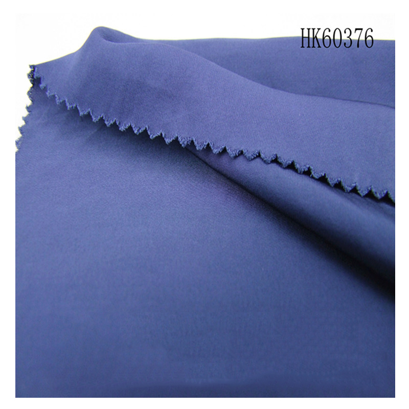 Wholesale drapery 150gsm plain blue solid color 100%viscose fabric