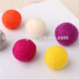 felt ball hanging felt easter decoration christmas ornaments in bulk