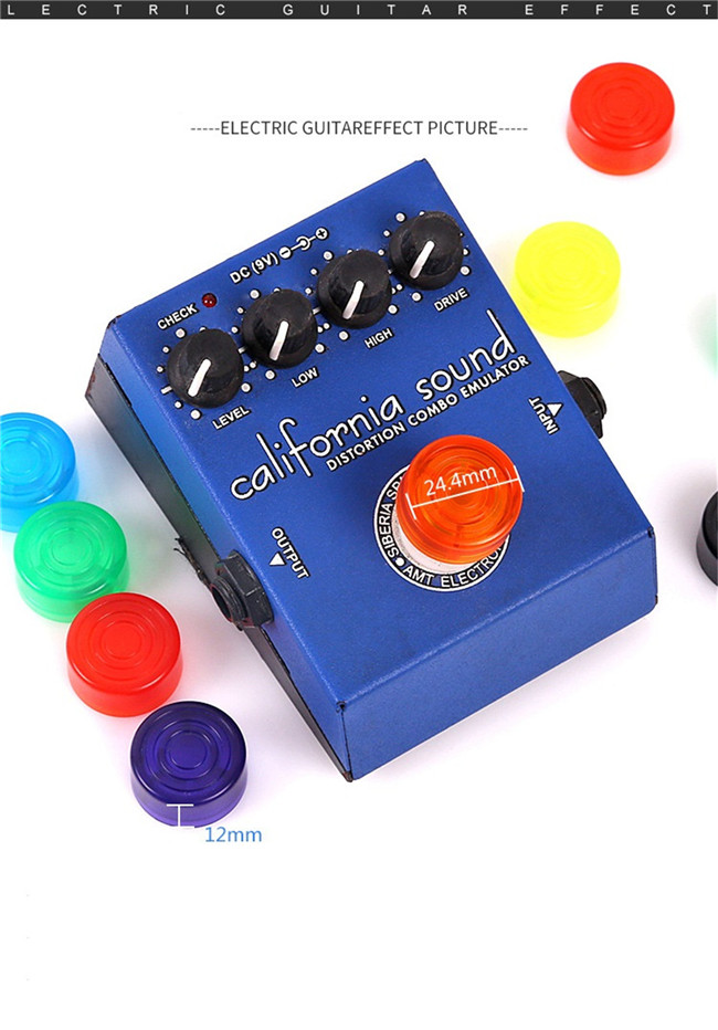 Factory Price Guitar Pedal Effect Bass Jazz Audio 증폭기 Volume Control Knob
