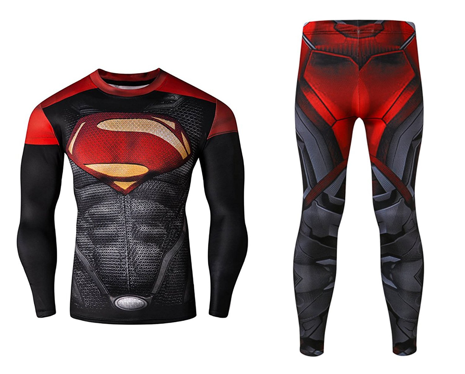 Cheap Ironman T Shirts Online India Find Red Tees Get Quotations Mens Compression Pants Tights Superman Workout