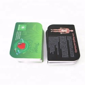 High quality and cheaper health care negative ion bio nano energy card