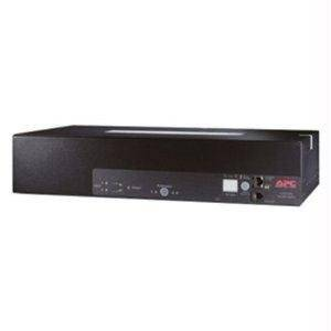 "Apc By Schneider Electric Redundant Switch - Rack-Mountable - Black - By ""Apc By Schneider Electric"" - Prod. Class: Accessories And Cables/Rack Systems And Parts / Racks"
