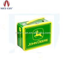 2018 Hot Sale Magnetic Food Grade Custom Design Tin Metal Lunch Box