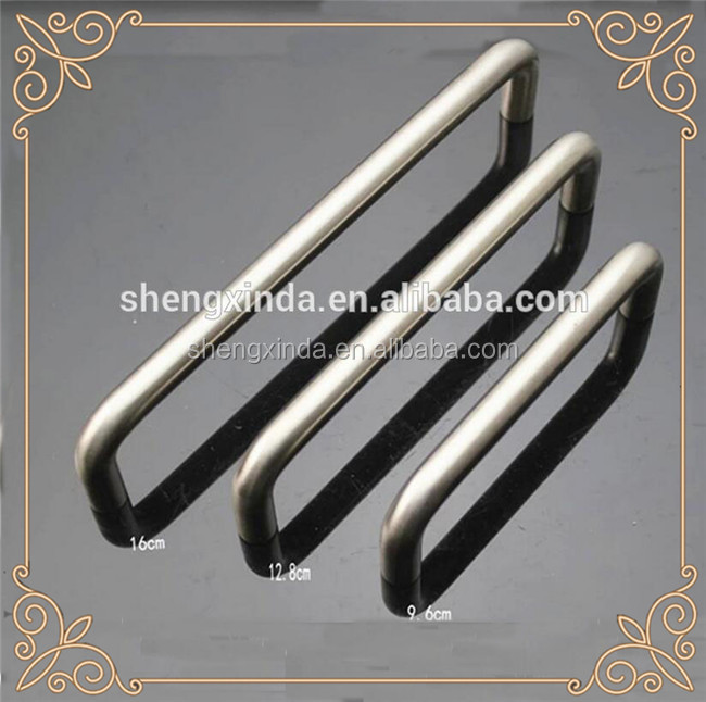 160MM High quality stainless steel kitchen cabinet glass door handles