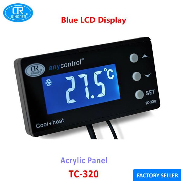 Ringder Tc-320 16-40c Digital Reptile Aquarium Thermostat ...
