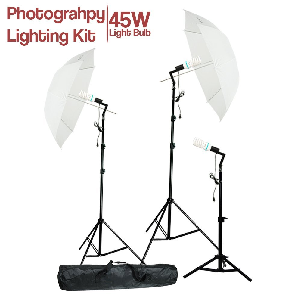 Cheap Day Light Video Find Deals On Line At Alibabacom Lighting Diagram Photography Get Quotations Lusana Studio Photo Portrait White Umbrella Continuous Kit With Stand