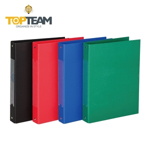 Top sale color printing A4 vinyl view 3 ring binder