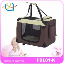 Indoor & Outdoor Soft Sided Pet Carrier Airline Approved Fancy Pet Carriers Toy