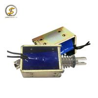 50Mm Stroke Open Frame Actuator Linear Mini Push Pull Small Powerful Solenoid