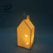Tea Light House - Ceramic Candle Holder - City House