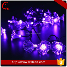 China outdoor morning glory patio bulk battery led christmas lights