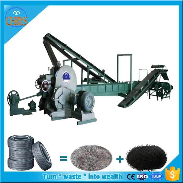 High Benefit Used Tire Rubber Powder Machine_waste Tire Recycling ...
