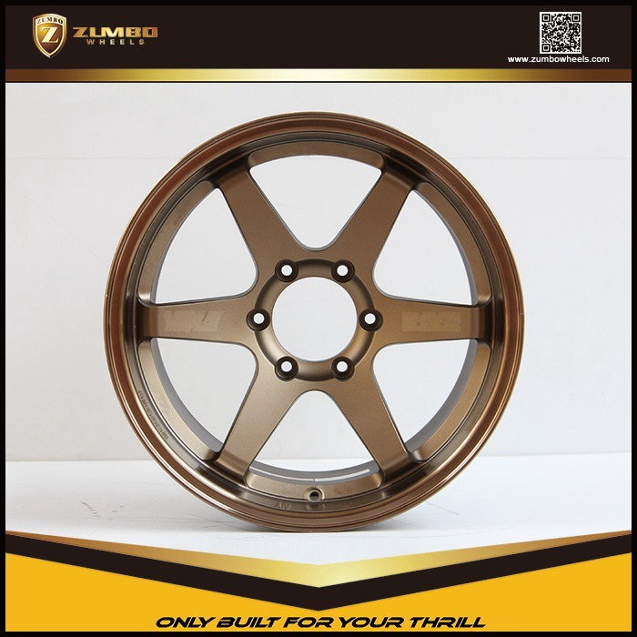 "ZUMBO S0033 Bronze Car wheel 17"" 18"" 20"" 22"" aluminum wheels Alloy wheel"