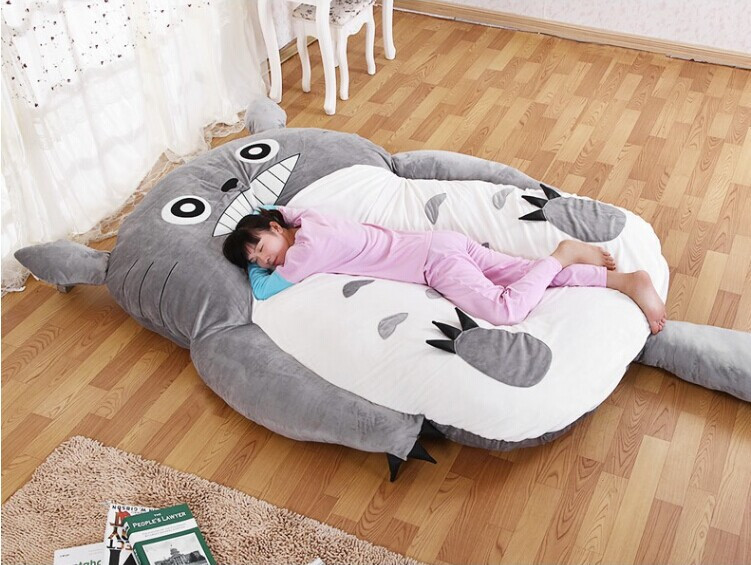 23mx19m tatami futon totoro stuffed double sleeping toy bed totoro plush bed