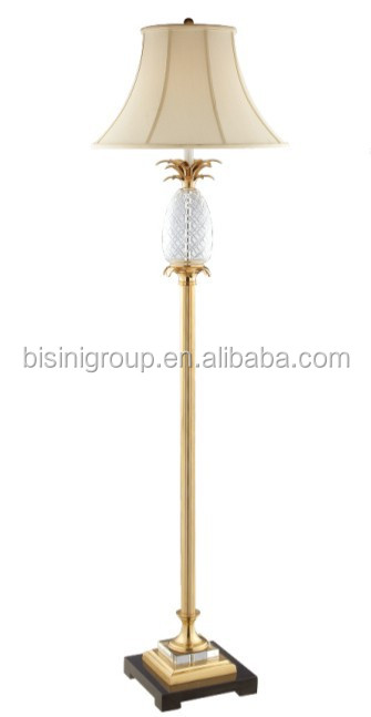 Antique Luxury Crystal Table Lamp With Bronze Decor And Cream ...