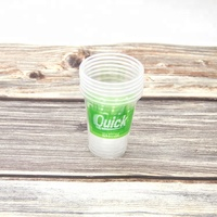 Custom clear disposable 7oz 200ml plastic cups for drinking