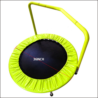 Indoor folding fitness jumping bed mini trampoline