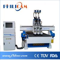 Jinan Lifan wood door cabinet cupboard design machine pneumatic atc cnc router universal woodworking machine