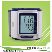 new design lcd digital wrist alpk nissei blood pressure monitor sphygmomanometer