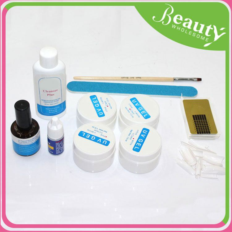 Gel polish kit h0tSN uv/led gel color nail polish kit for sale