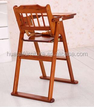 sillas niños para restaurante de madera