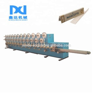 automatic counting tissue making cigarette rolling paper machine