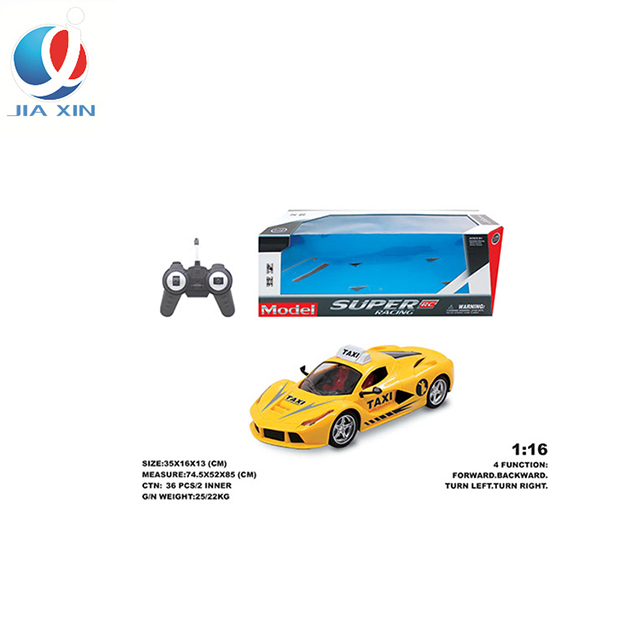1:16 RC Car Taxi Radio Remote Control Car for kid Truck High Speed Electric