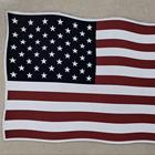 High quality Chuangdong cheap custom polyester fabric printing embroidered big size american national flag