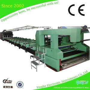 Industrial Use Large Format 6 to 16 Color Flat Screen Printer For Sale