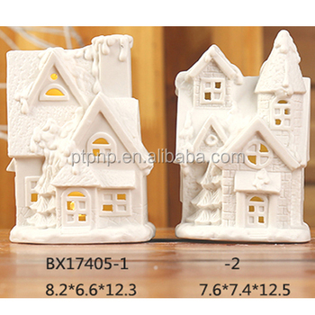 Christmas Village Houses With Led Light