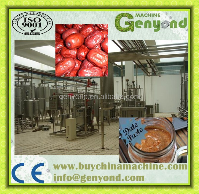 Red Dates Jam Production Line / Red Dates Paste Production Line ...