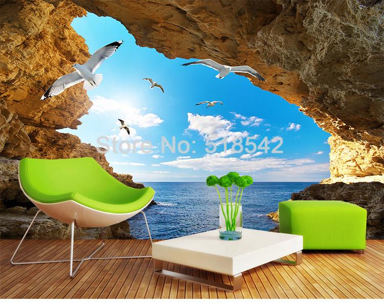 Fine Beibehang Custom Wallpaper 3d Three-dimensional Relief Swan Tv Background Wallpaper Living Room Sofa Background 3d Wallpaper Fine Workmanship Wallpapers
