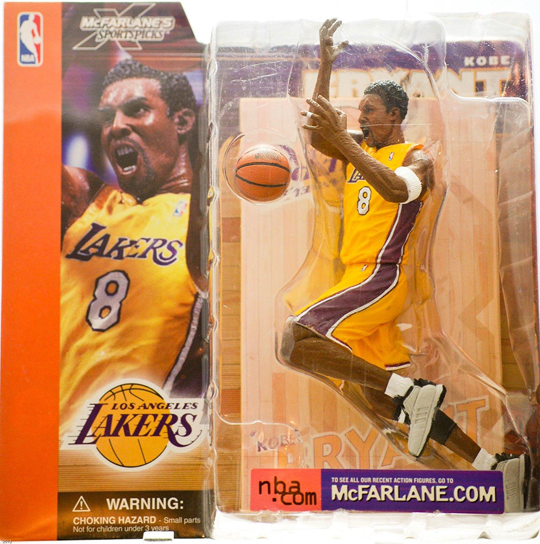 Buy Kobe Bryant McFarlane Series 1 Yellow Uniform Los Angeles ...