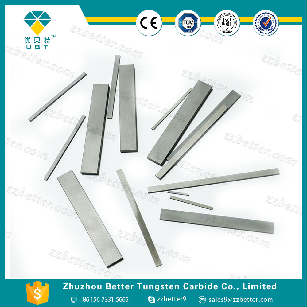 Tungsten carbide blades for metal scraper