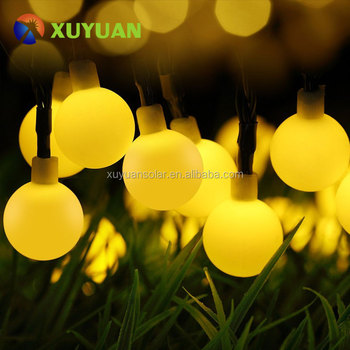 Solar Outdoor String Lights,Waterproof Ball Lights,Solar Powered Starry Fairy for Garden, Patio, Yard, Home, Christmas Tree