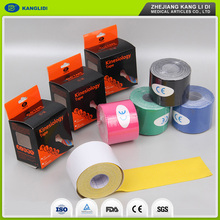 KLIDI 2016 Hot Sell Waterproof Cotton Elastic Sport Tape/Athletic Muscle Tape