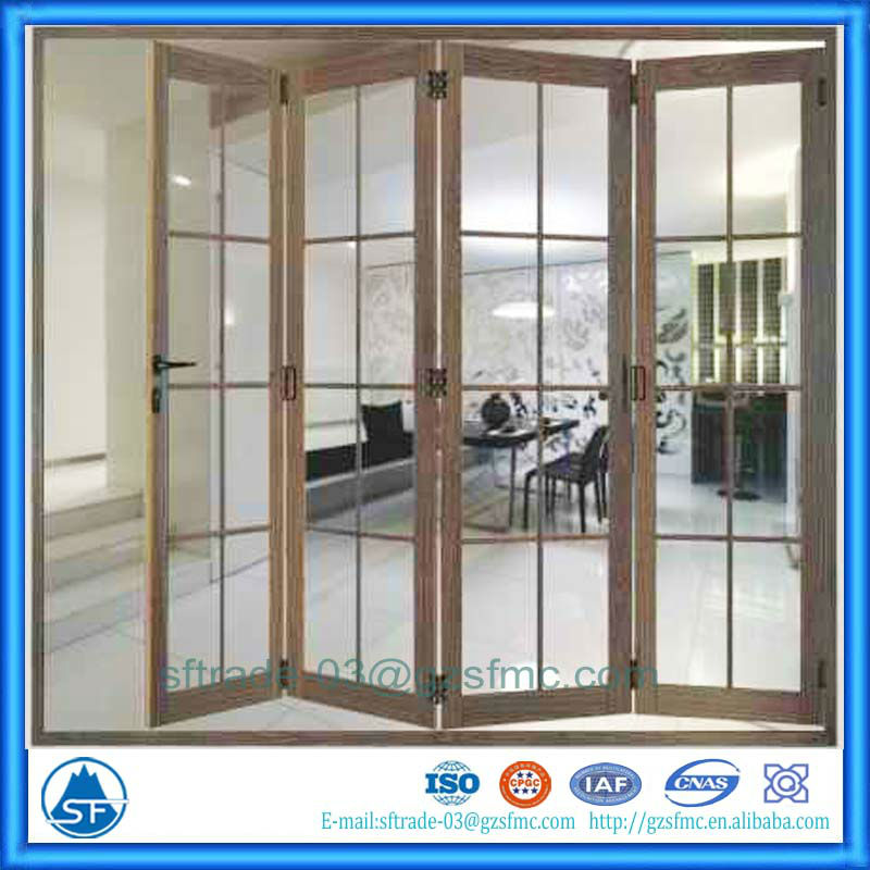 Side Board Hinge Accordion Aluminum Patio Doors   Buy Aluminum Patio Doors,Stainless  Steel Gate Door,Side Board Hinge Product On Alibaba.com
