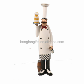 Strange Creative Tall Resin Chef Figurine For Kitchen Decoration Buy Chef Decoration Resin Chef Decoration Chef Holding Tray Product On Alibaba Com Download Free Architecture Designs Scobabritishbridgeorg