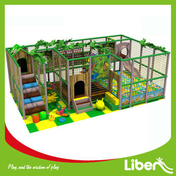 Kids Used Indoor Playground Equipment Sale LE.T2.211.202.00