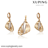 64295 Environmental copper high quality ladies wholesale costume fashion beautiful jewelry sets