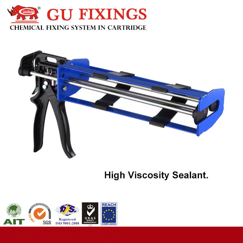 Two component epoxy resin adhesive gun injection construction tools