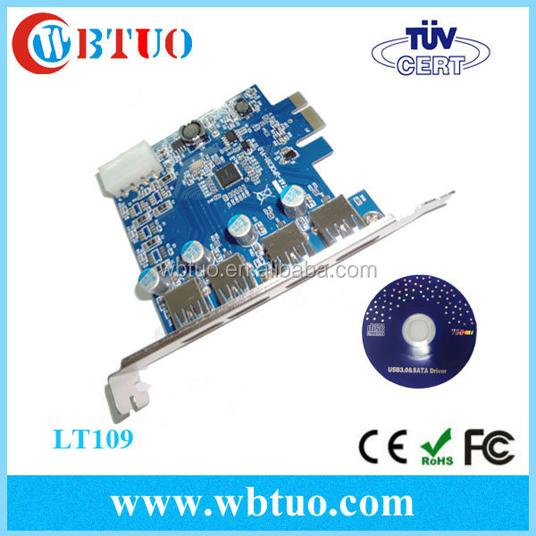 Pci Usb 3.0 Card For Desktop Pci-e To Usb 3.0 Card Pci-e Riser ...