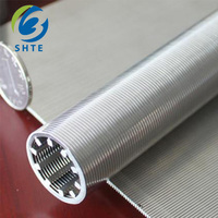 Water treatment Johnson wedge wire Screen Pipe Rod base welded wire wrapped screen filter