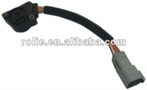 high quality volvo truck spare parts accelerator pedal sensor 5wire